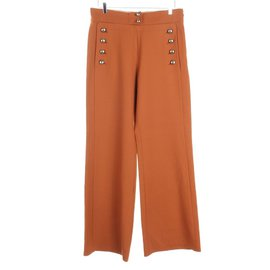 Chloé-Pants, leggings-Brown