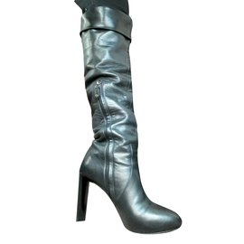Céline-High boots-Black