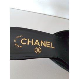 Chanel-Mules Chanel-Noir