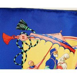 Hermès-Carré 90-Multicolore