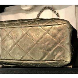 Chanel-Chanel 2.55 Reissue 227 Metallic bronze with silver hardware-Bronze