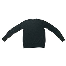 Burberry-pull burberry en laine mérinos nouvelle collection 2019-Noir