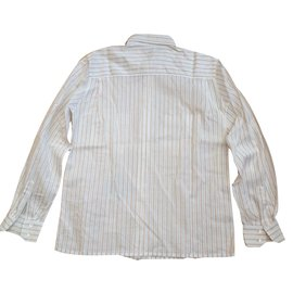Céline-Vintage cotton shirt-White