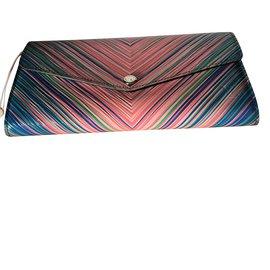 """Louis Vuitton-Portefeuille Modèle """"Sarah""""  Edition Limitée (intèrieur Parme)Cuir Epi Multicolor-Multicolore"""