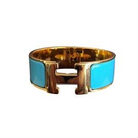 Hermès-Clic Clac PM-Bleu