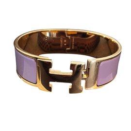 Hermès-Clic clac GM-Violet