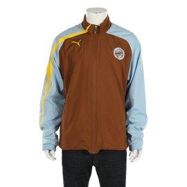 Puma-Vestes Blazers-Marron,Multicolore,Jaune,Bleu clair