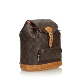 Louis Vuitton-Monogramme Montsouris MM-Marron