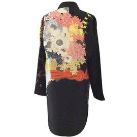 Dries Van Noten-Manteaux, Vêtements d'extérieur-Multicolore