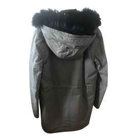 The Kooples-Parka kaki-Kaki