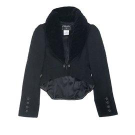 Chanel-jacket /  tail-coat-Black