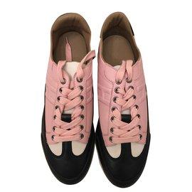 Hermès-Hermès: Sneakers Goal Taille 40-Multicolore