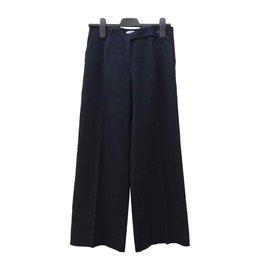 Céline-Pantalons, leggings-Noir