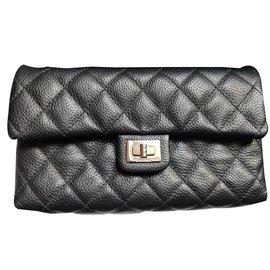 Chanel-Belt uniform bag-Black