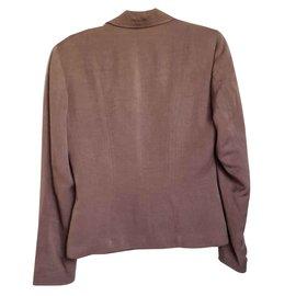Gerard Darel-Jackets-Light brown