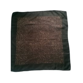 Christian Dior-Men Scarves-Brown,Green
