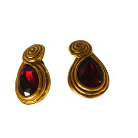 Lanvin-Earrings-Golden