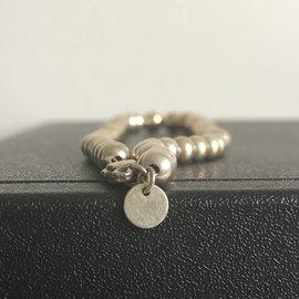 Tiffany & Co-Collier TIFFANY & CO perles graduées - Argent-Argenté
