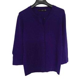 Balenciaga-Superb Balenciaga sweater in cobalt knit-Blue