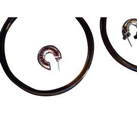 Balenciaga-Earrings-Brown