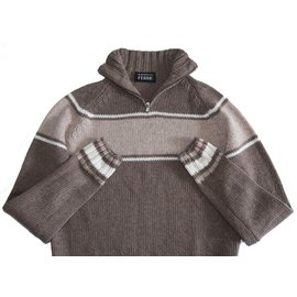 Gianfranco Ferré-Sweaters-Brown