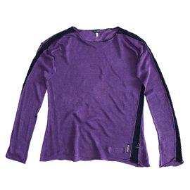 Armani Jeans-Chandails-Violet