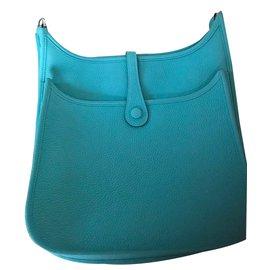 Hermès-Hermès Evelyne 29 PM Bleu Atoll-Bleu