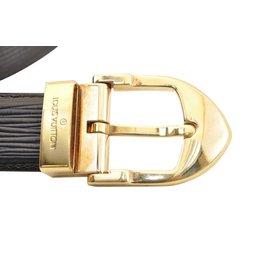 Louis Vuitton-Ceinture Louis Vuitton-Noir