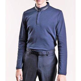Karl Lagerfeld-LAGERFELD NEW MEN'S POLO SHIRT-Dark blue