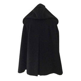 Max Mara-Manteaux, Vêtements d'extérieur-Noir