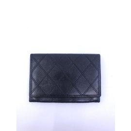Chanel-Portefeuille Chanel-Noir