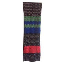 M Missoni-large motif en zigzag-Noir,Rouge,Bleu,Vert