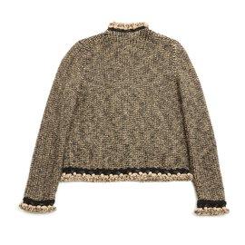 Chanel-CAMEL BROWN FR38-Brown