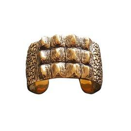 Yves Saint Laurent-Bracelets-Doré