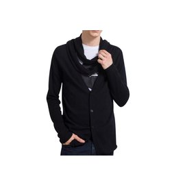 Karl Lagerfeld-LAGERFELD MEN'S NEW CARDIGAN-Black