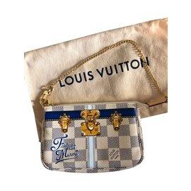 Louis Vuitton-Mini Pochette Accessoires Forte dei Marmi Resort 2018 Édition Limitée-Multicolore