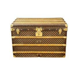 Louis Vuitton-Louis Vuitton Malle courrier damier-Marron