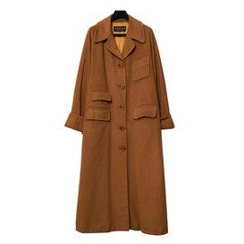 Gucci-CAMEL CASHMERE FR38/40-Caramel