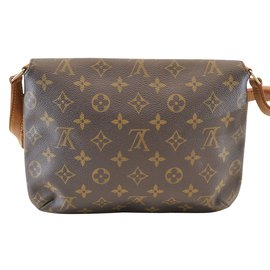 Louis Vuitton-Louis Vuitton Musette Tango-Marron