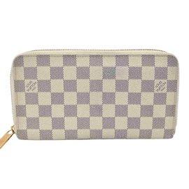 Louis Vuitton-Louis Vuitton Zippy Organisateur-Blanc