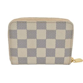Louis Vuitton-Louis Vuitton Zippy-Blanc