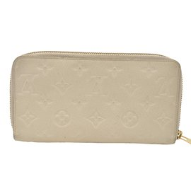Louis Vuitton-Louis Vuitton Portefeuille Secrete-Blanc