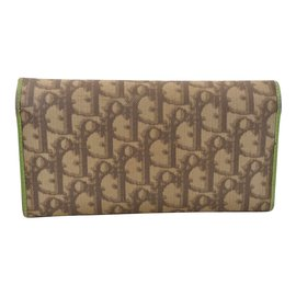 Dior-Dior Trotter Wallet-Brown