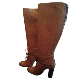 Chloé-Boots-Light brown