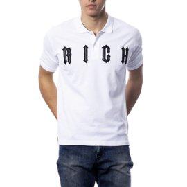 John Richmond-RICH JOHN RICHMOND NOUVEAU POLO BLANC-Blanc
