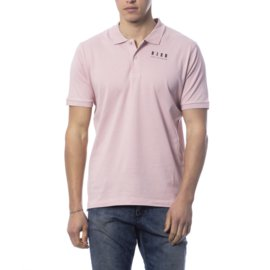 John Richmond-RICH JOHN RICHMOND PINK NEW POLO SHIRT-Pink