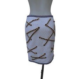 Moschino-Skirts-White