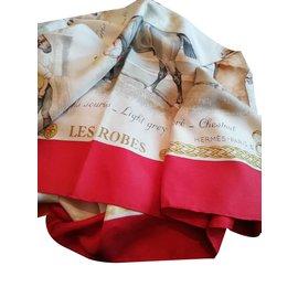 Hermès-Echarpes-Multicolore
