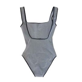 Hermès-Maillots de bain-Noir,Blanc