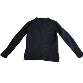 Polo Ralph Lauren-Tricots-Gris anthracite